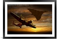 Legends of the Sky, Framed Mounted Print