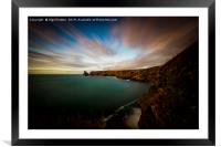 Baras Nose View, Framed Mounted Print