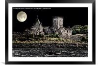 Inchcolm Abbey, Framed Mounted Print