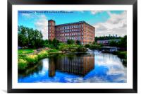 The Mill Paisley, Framed Mounted Print