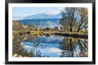Caledonian Canal, Framed Mounted Print