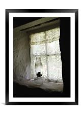 WIndow Light, Framed Mounted Print