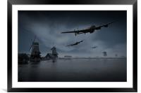Dambusters first wave, Framed Mounted Print