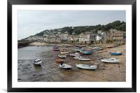 mousehole, Framed Mounted Print