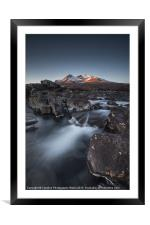 Cuillins Dawn, Framed Mounted Print
