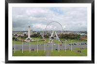 Plymouth Hoe, Framed Mounted Print