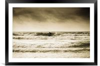 Surf Cornwall, Framed Mounted Print
