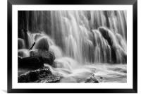 The River Wye at Monsal Dale Derbyshire, Framed Mounted Print
