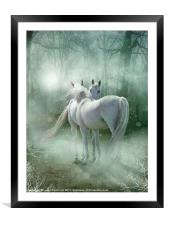 A Magical meeting, Framed Mounted Print
