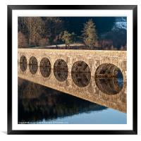Carreg Ddu arches., Framed Mounted Print