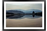 Ardvreck Castle Reflections, Framed Mounted Print