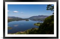 Skiddaw and Derwent Water, Framed Mounted Print