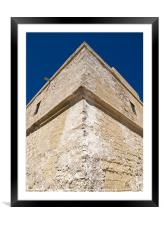 Fortress, Framed Mounted Print