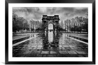 McLellan Arch Glasgow Green, Framed Mounted Print