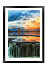 strathclyde country park , Framed Mounted Print