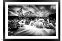 When worlds collide, Framed Mounted Print