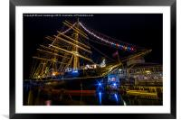 RRS Discovery Dundee., Framed Mounted Print