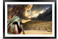 ancient greece, Framed Mounted Print