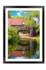 Pulls Ferry Norwich, Framed Mounted Print