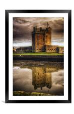 Broughty Castle, Framed Mounted Print