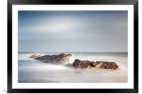 Peverill Point, Swanage, Framed Mounted Print