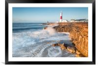 Sunrise at the Bill, Framed Mounted Print