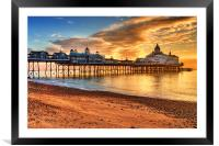 Eastbourne Pier, Framed Mounted Print