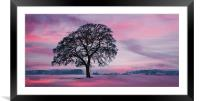 We stand alone, Framed Mounted Print