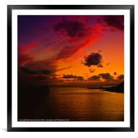 Natural Beauty, Framed Mounted Print