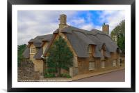 Thatched Cottage, Framed Mounted Print