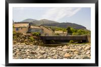 The Glenn river mouth at Newcastle Co Down, Framed Mounted Print