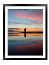 Brightlingsea, Essex , Framed Mounted Print
