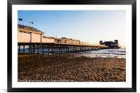 Weston Super Mare Pier, Framed Mounted Print