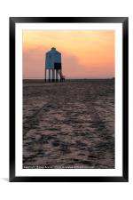 Tracks to the Lighthouse, Framed Mounted Print
