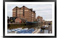 National Waterways Museum, Framed Mounted Print