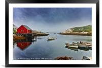 The Calm Before the Storm, Framed Mounted Print