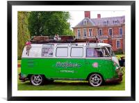 VW At Stanford Hall Rally, Framed Mounted Print