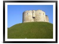 Lets Climb the Tower!, Framed Mounted Print