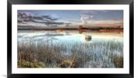 Mother Natures reflections, Framed Mounted Print
