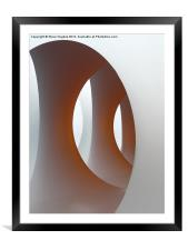 Inside Colourscape, Framed Mounted Print