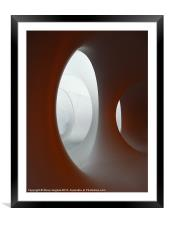 Structures inside Colourscape, Framed Mounted Print