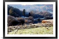 Wintertime in the Lake District, Framed Mounted Print