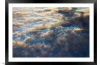 Heavenly Clouds, Framed Mounted Print