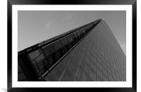 The Shard London, Framed Mounted Print
