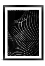 AN ABSTRACT OF SHADOWS, Framed Mounted Print