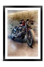THE CUSTOM RIDE, Framed Mounted Print