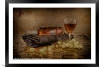 A GOOD WINE 2, Framed Mounted Print