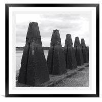 Standing Guard, Cramond, Framed Mounted Print