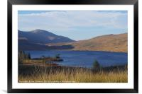 Loch Dee, Dumfries and Galloway, Framed Mounted Print