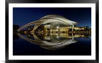 The Convention Center, Framed Mounted Print